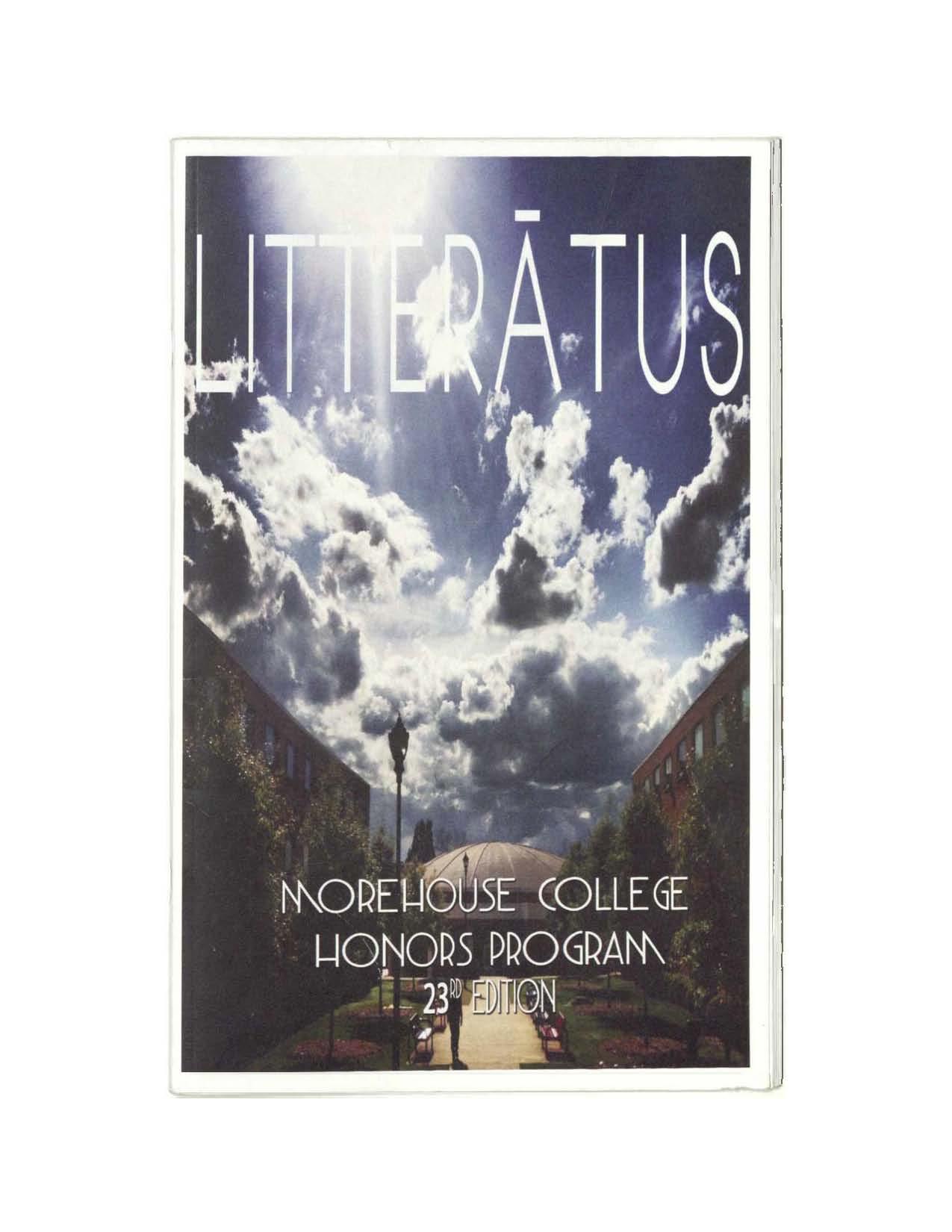 Litteratus 2013 Cover Image