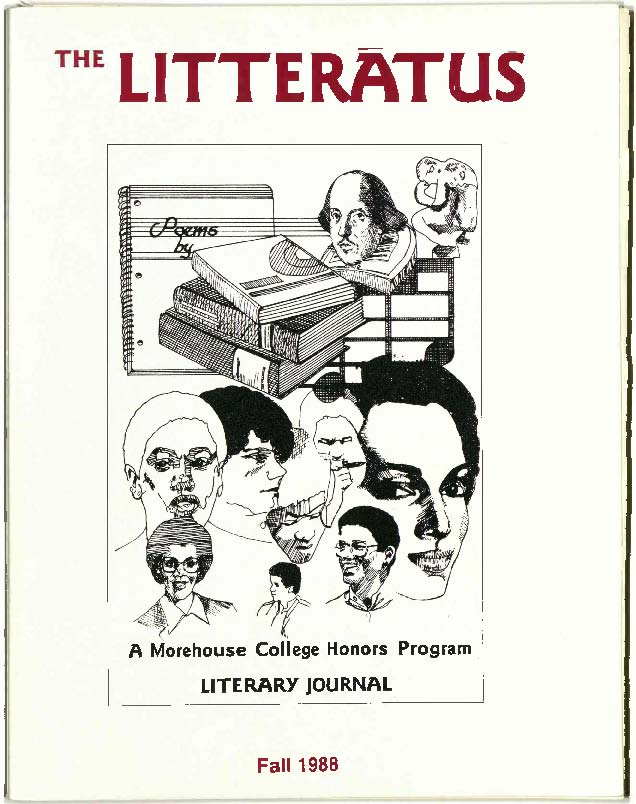 Litteratus Fall 1988 Cover image