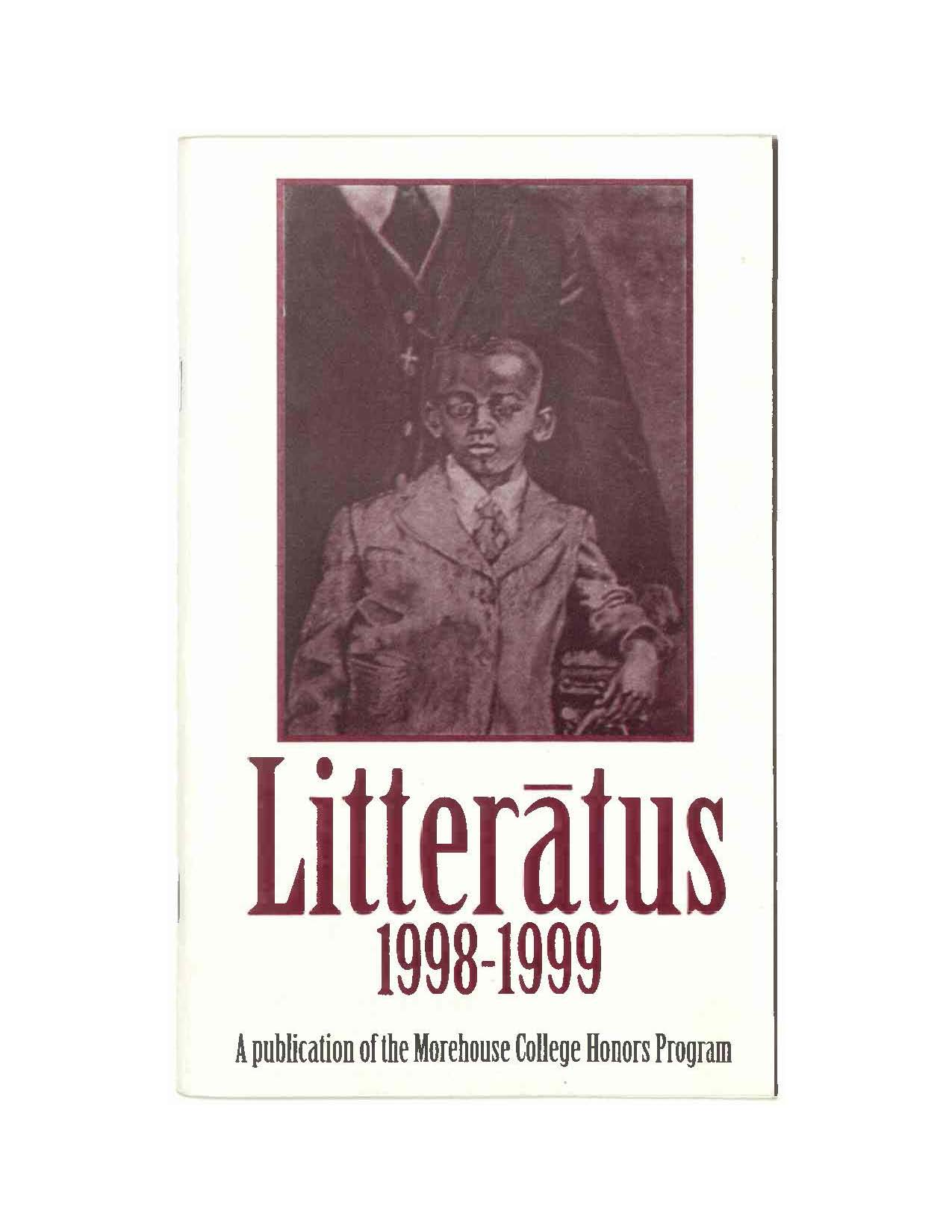 Litteratus 1998-1999 cover image