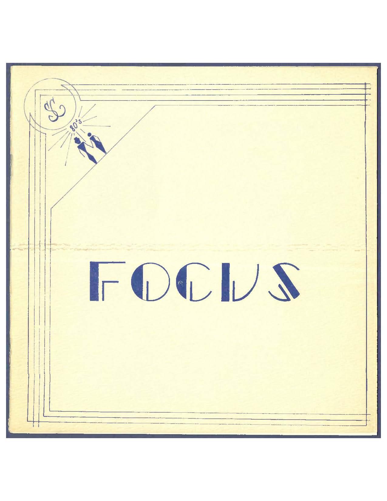 Focus Magazine 1980 cover image